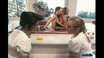 watch maids their while together bath a take friend and Jenteal