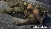 2 hulk-high incredible the with 69 a having babe 3d Hot