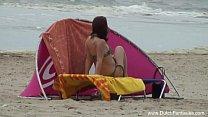 beach the on threesome nederlander Redhead
