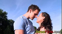 STREETFLIRTS.com amateur couple outdoor sex thumbnail