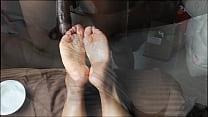 ebony wrinkled solejob not my video 2