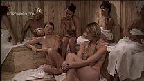 sauna girl-only the in nude vandeven Heather