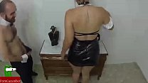 The butler and the housemaid fucking like dogs. SAN013 porn videos
