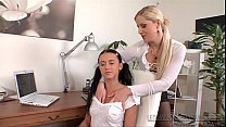 Sandra De Marco and Angelica Kitten - Lesbian Older Younger