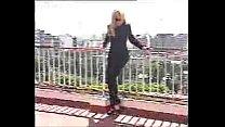 hot súper terraza la en strip rito eugenia Maria