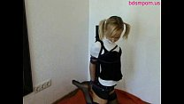 gagged tape and frogtied girl teen innocent Cute
