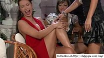 Women get pleasure on good party