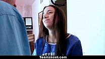 TeamSkeet - Cheerleader Belle Knox Humps & Swal...