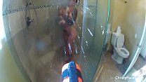 Christy Mack Shower Fun