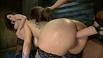 mistress by punished anal latinas Two