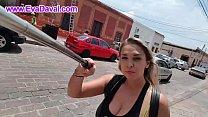 Street Walking Upskirt! Eva Davai