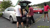 the dogging gangbangs of naughty slutwife nicole