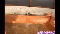 Ran Asakawa with hot jugs gives blowjob and is fingered at pool porn videos