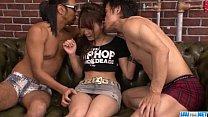 tai phim sex -xem phim sex Dirty Asian threesome along insolent Miyu