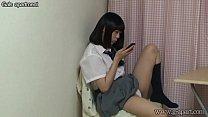 Japanese Schoolgirl Upskirt Panties