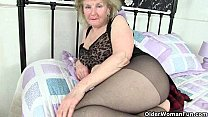 plays and tights her lowers cream clare granny British