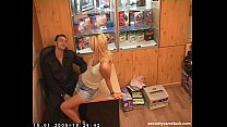Russian Sex in the Office [Security Cam]