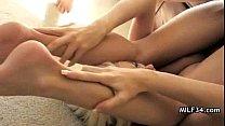 Азиатский массаж на скрытая камера