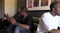 Cammille Gets Her Cougar Pussy Banged By Black Guys thumbnail