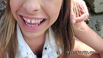 Two amateur babes foursome party outdoor at camping porn videos