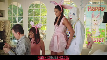 Teen fucks uncle dressed as Easter Bunny | Video Make Love