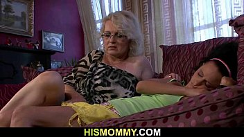 Lesbian mommy wanna eat her young p..