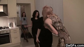Lesbian party at my home   Video Make Love