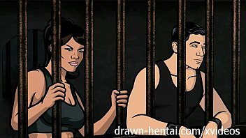 Archer hentai jail sex xxx with lana