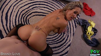 Follada Casera Hot brandi love gives titjob in pov