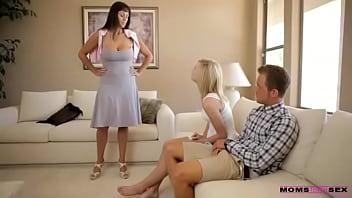 Moms teach sex xxx mom catches horny teen couple