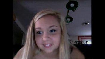 Cute blonde has shaking orgasm more at 69cumcams.com