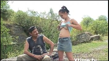 Young girl buggered by her old uncle in the ...