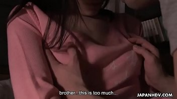 Brother and sister fuck then the creampie happens