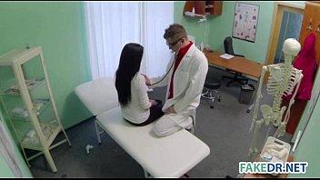 Patient gets fucked in doctors office