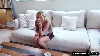 Blonde amateur fucking boyfriend pov on homemade