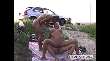 Great tits blonde fucked and DPed NL-16-04...
