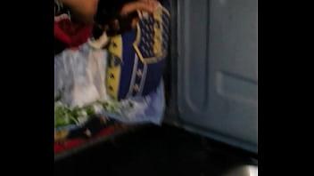 Mi novia puta coge en camioneta 1