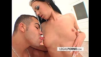 Hot brunettes taking care of one cock bmp-1-04