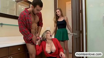 Teen busted milf sucking off her BFs rod | Video Make Love