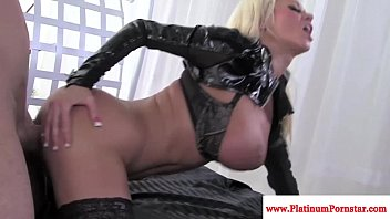 Nikita von james gets mouthful of cum