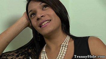Travesti de Feira de Santana (BA) metendo com vontade