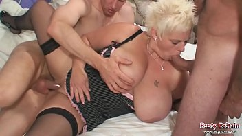 Big tits Keira Taking Two Cock | Video Make Love