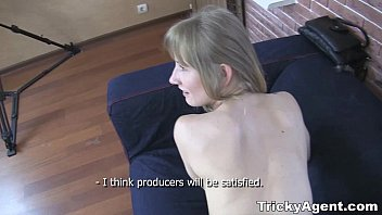 Tricky agent - a blond tube8 teen-porn is looki...