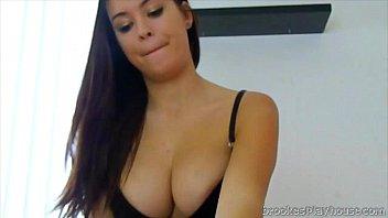Brooke avery enjoys taking her boyfriends cock