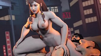 Then, and Chunli naked
