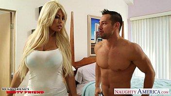 Busty blonde gf Bridgette B gets tits fucked | Video Make Love