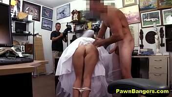 Jilted bride fucks shop owner for r..