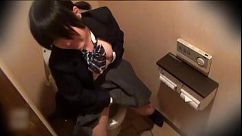 crazy Japanese chick masterbating