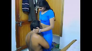 Desi honeymoon couple sucking and f..