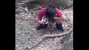 Фото подсмотренного секса в лесу 354